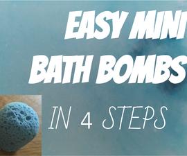 DIY Mini-To Go Bath Bombs