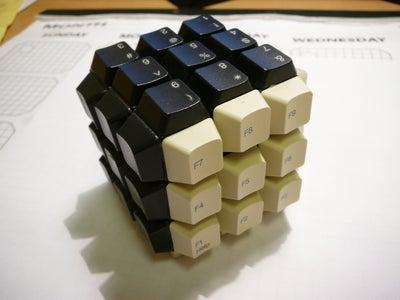 Keyboard/Sudoku Rubik's Cube...dead Computer Contest