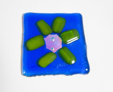 Making Fused Glass Jewelry in a Microwave Kiln