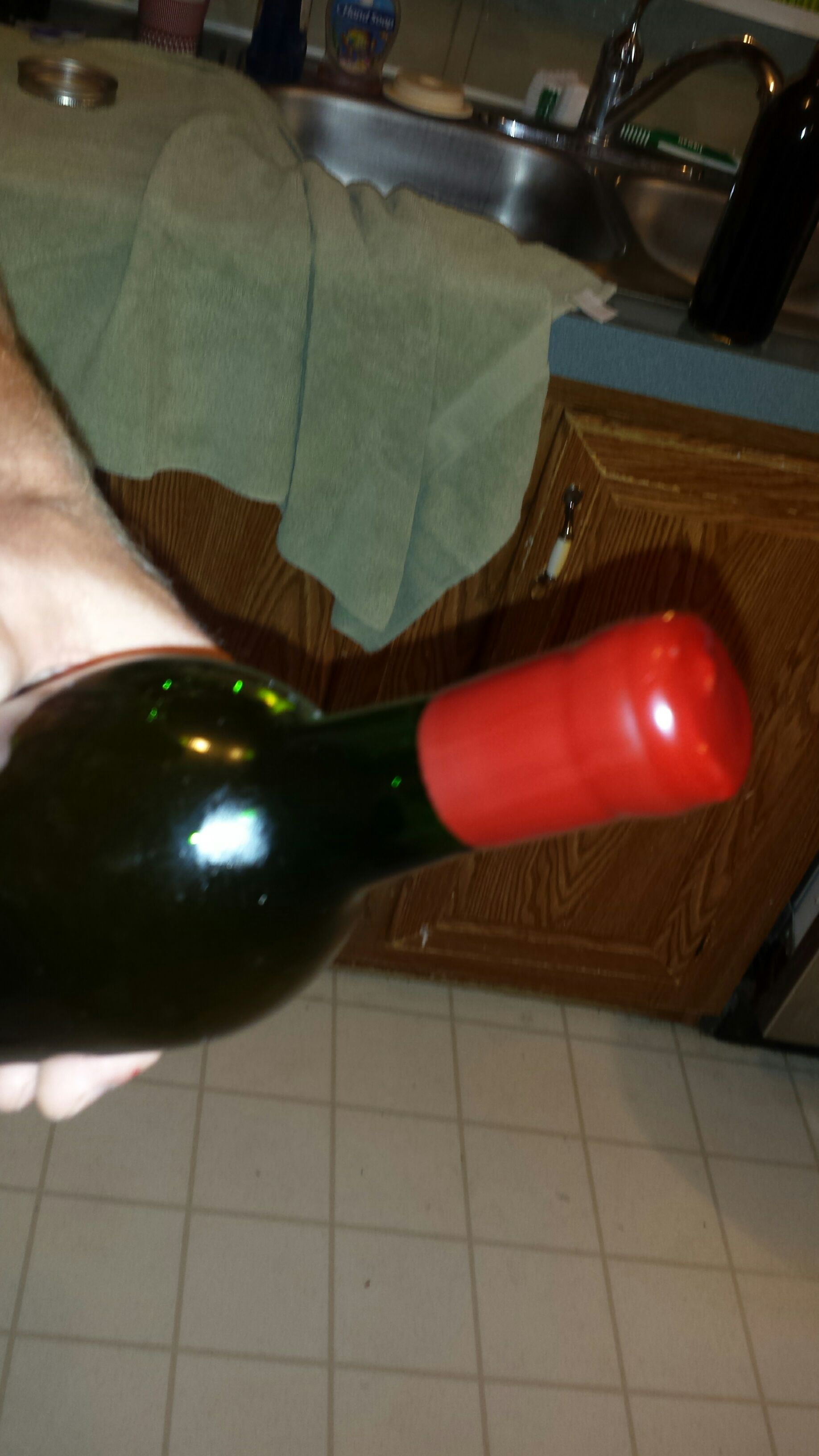 Picture of Waxing the Bottle