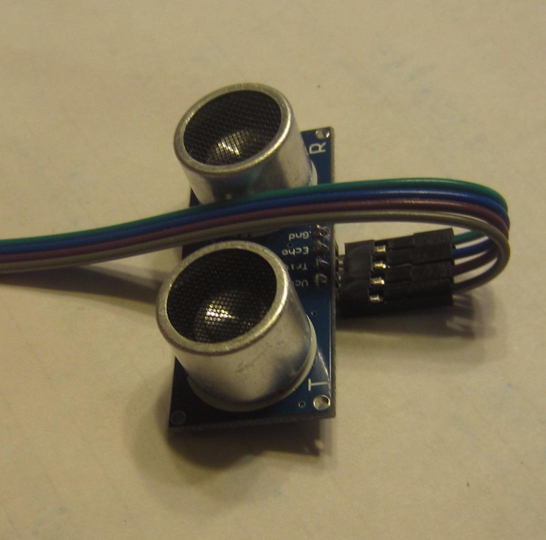 Picture of Wiring - HC-SR04 Sonar Sensor (Eyes)