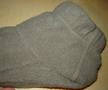 Fold and Sew at the Ankle