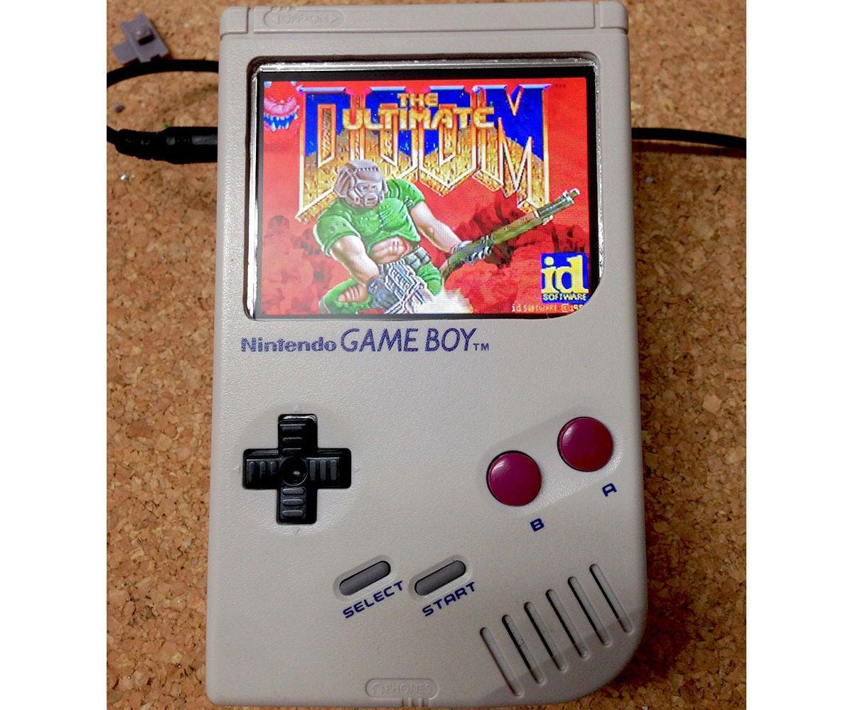 RaspiBoy, Raspberry Pi Gameboy, SuperPiBoy: a RaspberryPi Inside a Gameboy