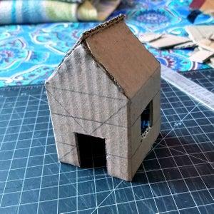 Making the Cardboard House