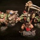 How To Speed Paint Ork Miniatures