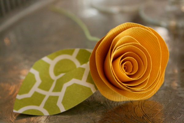 Picture of Rolled Paper Flowers