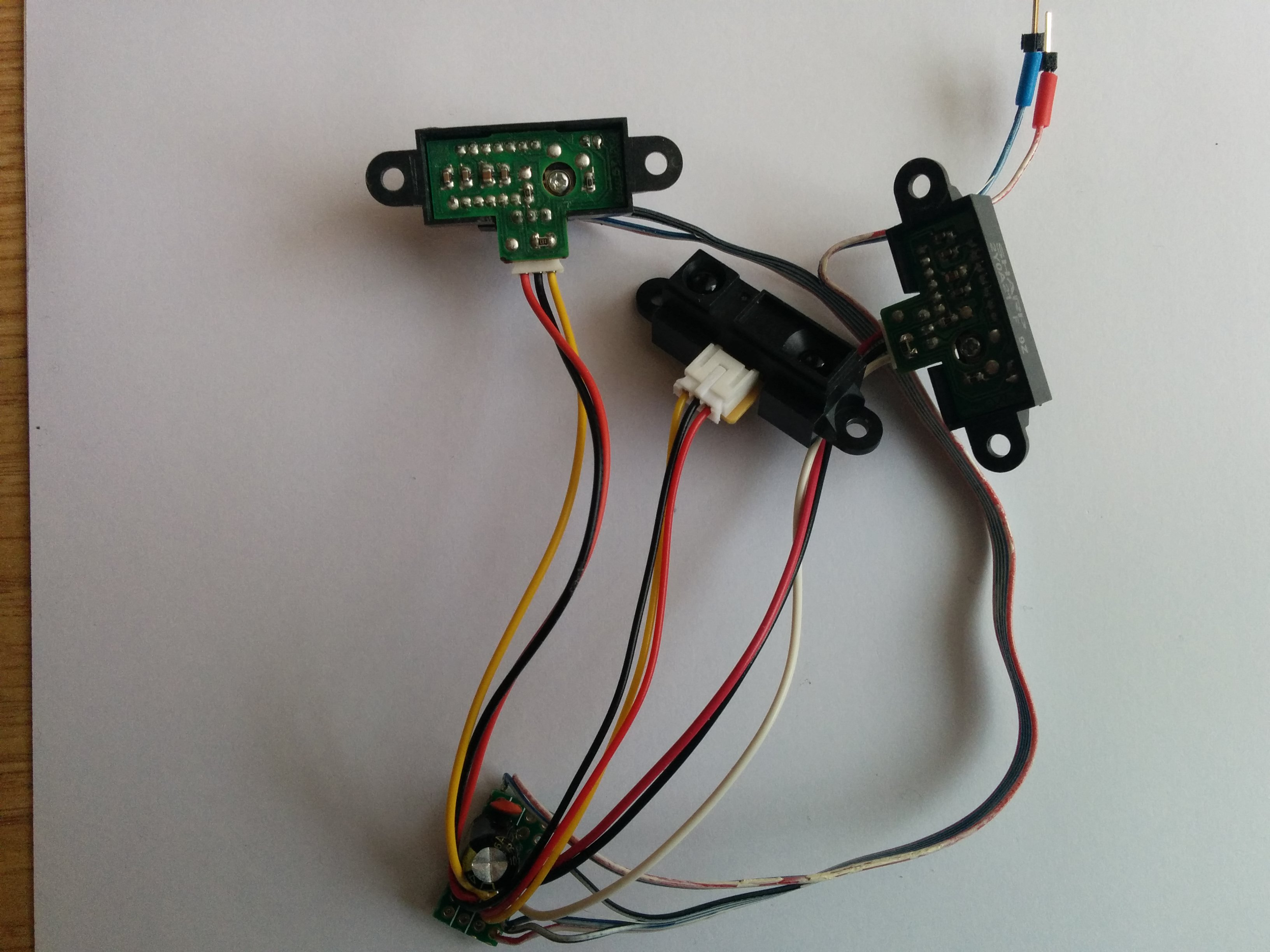 Picture of Connection of IR Sensors