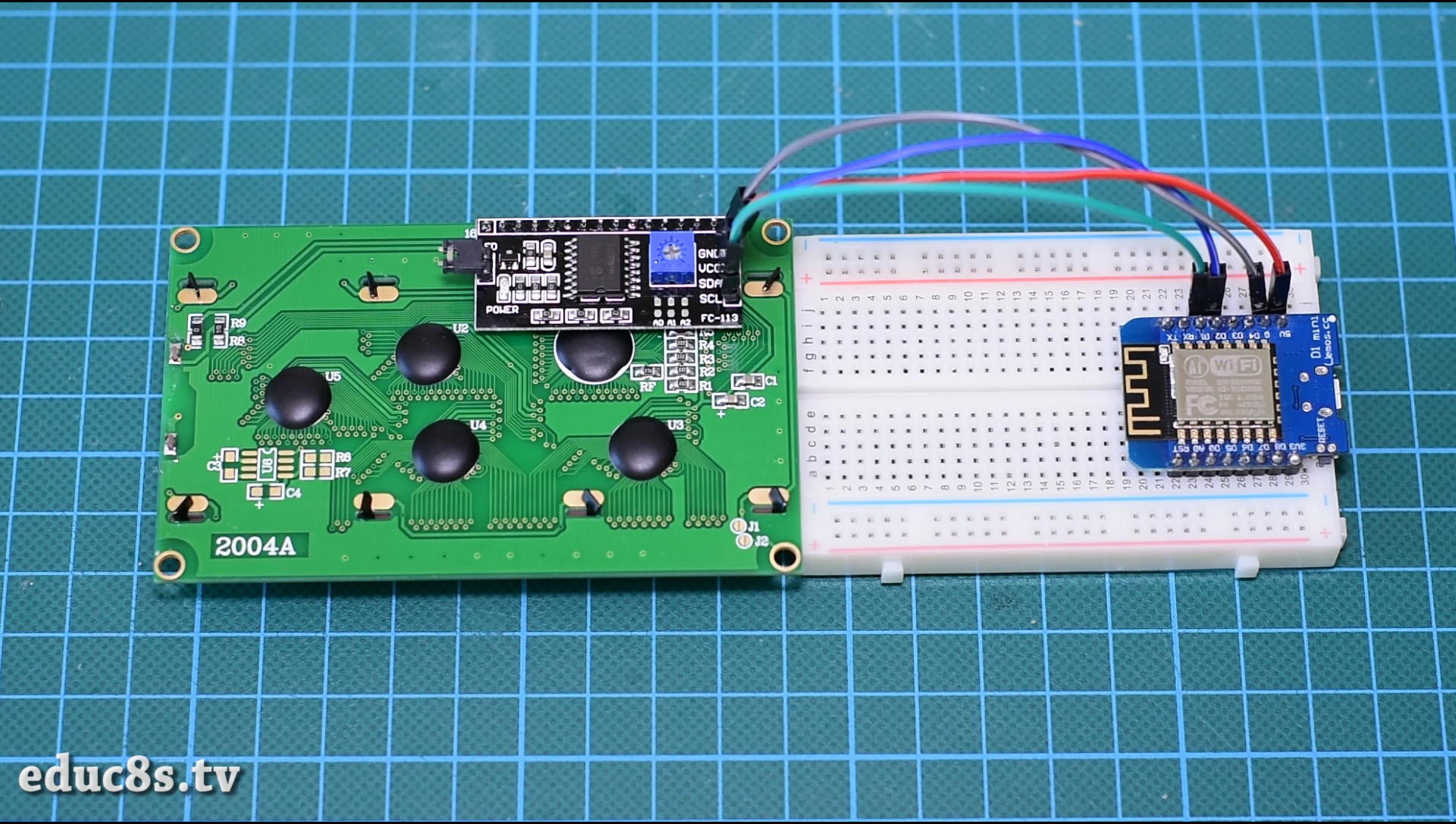 Picture of Build the Prototype Circuit