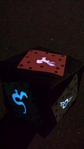 Glowing Miyazaki Fandom Cube