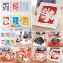 Leaf stamp art (DIY)