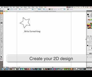 How to Create Original Artwork for a 3D Printer: Illustrator to Tinkercad (SVG)