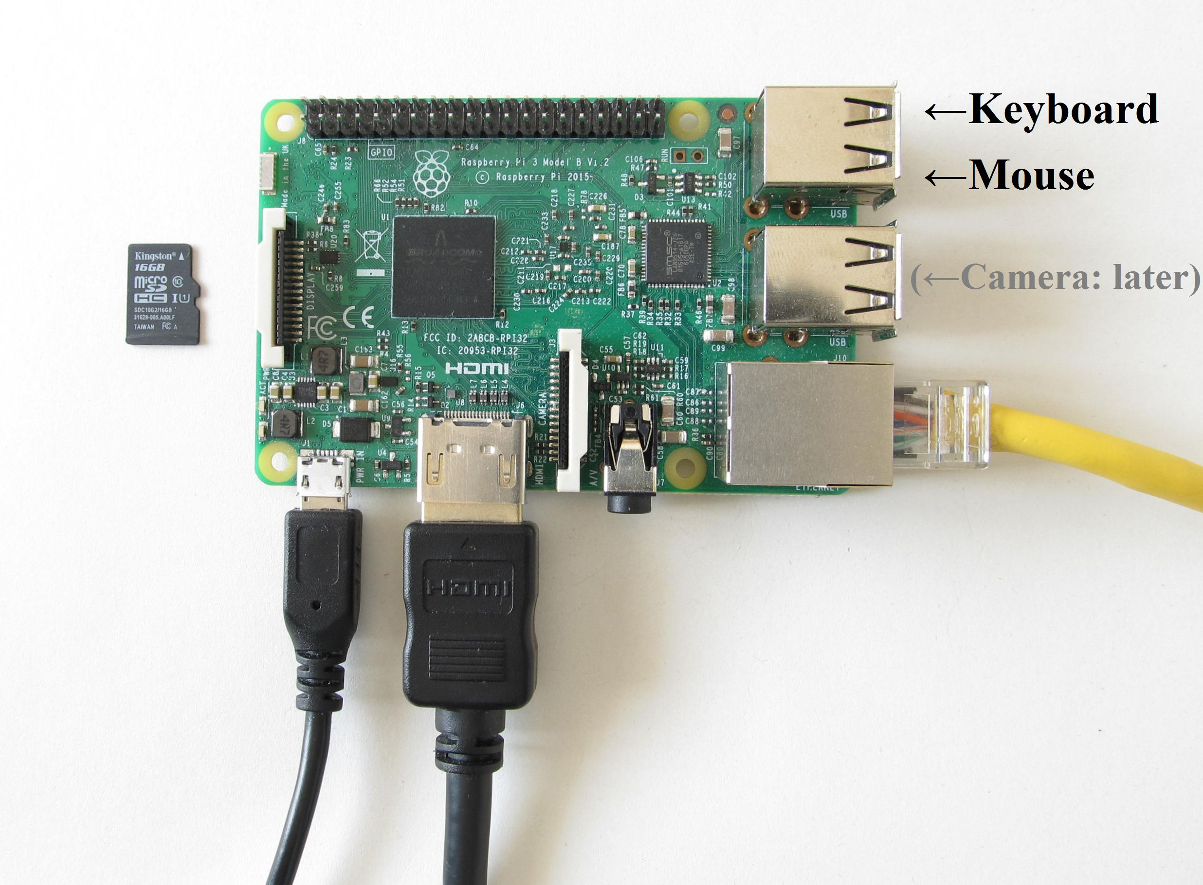 Picture of Set Up Raspberry Pi