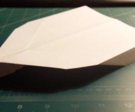 How To Make The Vigilante Paper Airplane