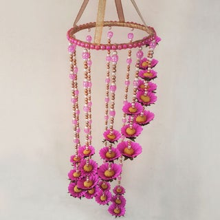 Diy Wall Hanging Home Decoration Using Paper Flowers 7 Steps With Pictures Instructables