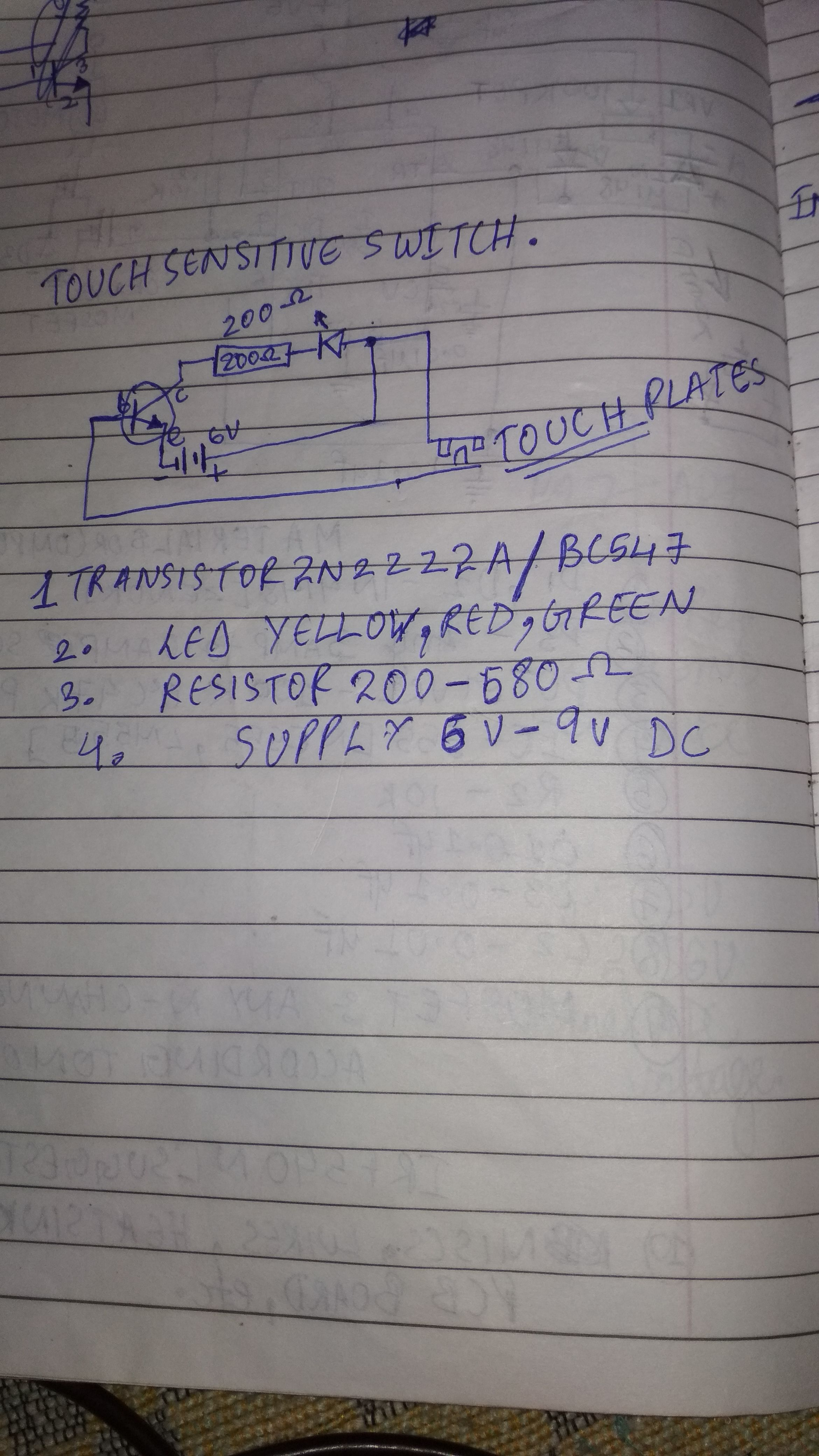 Picture of Materials and the Circuit