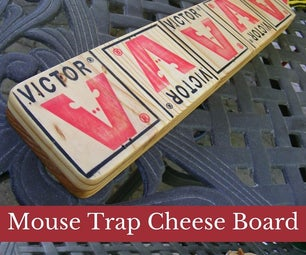 Mouse Trap Cheese Tray