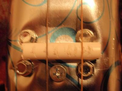 Cookie Tin Slide Guitar