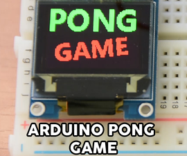 Arduino Pong Game - OLED Display