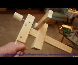 Wooden Clamps All From Laminated Pine