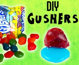 Homemade Gushers Candy!