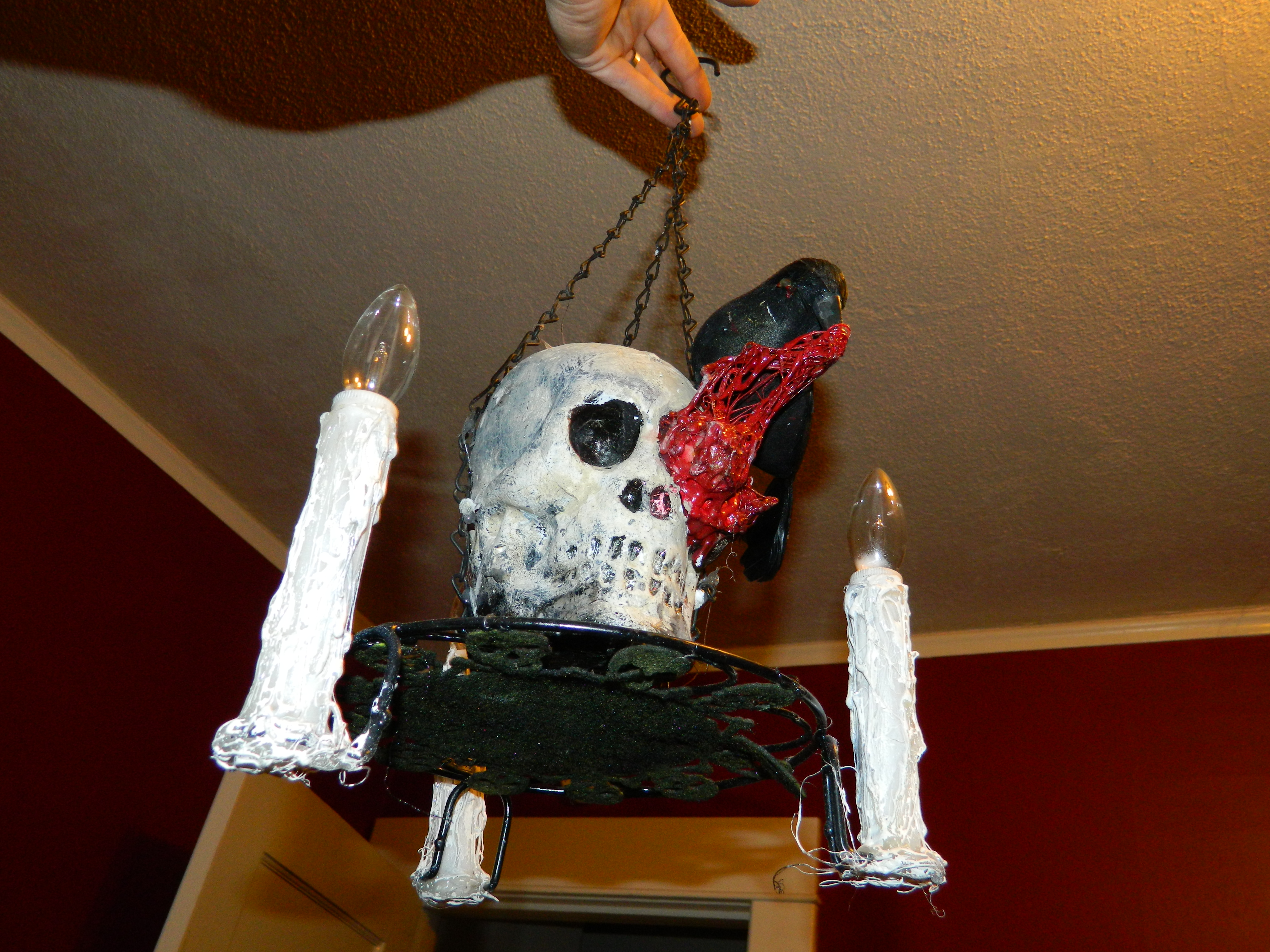 Picture of Macabre Halloween Chandelier