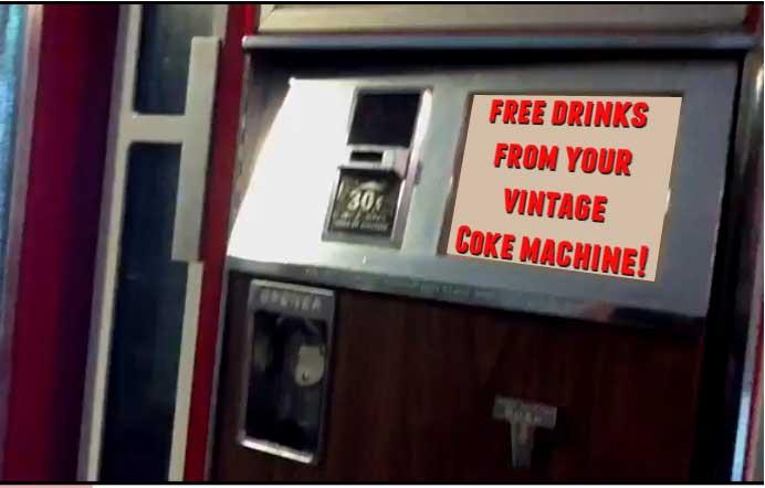 free vend your vintage coke machine rh instructables com