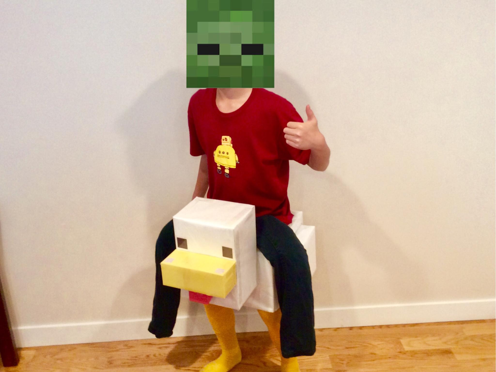 Picture of DIY Chicken Jockey Suit