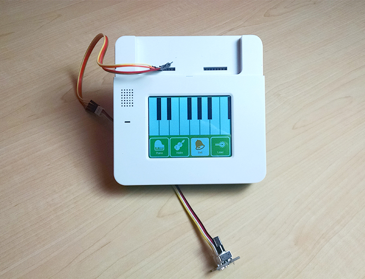 Picture of Synthesizer: a Keyboard UI With Audio Output