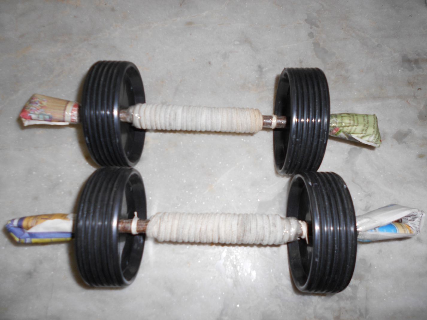 Picture of How to Make Your Own Ab Wheel and Ab Wheel Alternatives