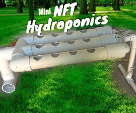 Mini NFT Hydroponic System
