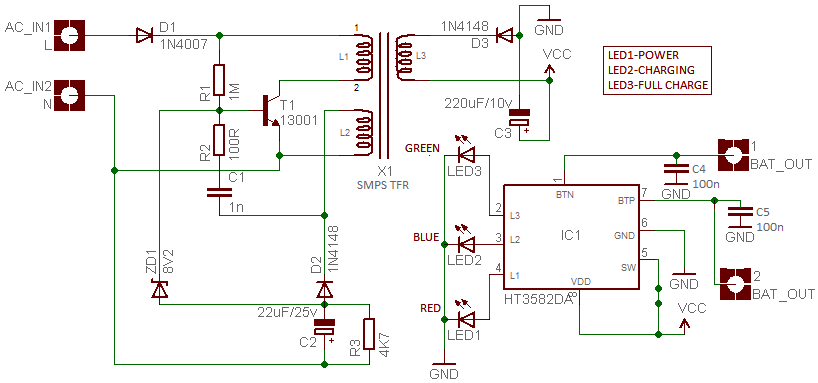 Picture of Circuit Diagram & Lab Note