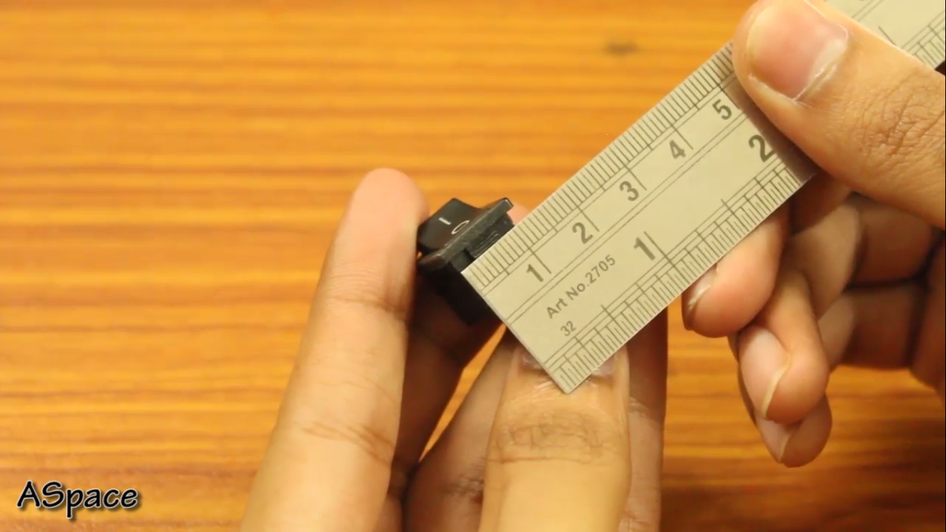 Picture of Measuring the Dimension of Components.