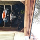 Windsurfing Board Storage
