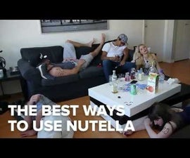 Best Uses of Nutella (Unusual Style)