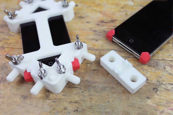3D Printing + Sugru = Precision Rubber Parts! (iPhone 4/4S and 5) + Video
