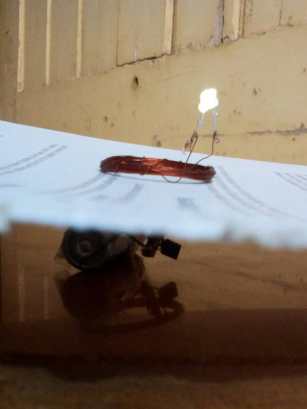 Very Simple Wireless Electricity Transmission