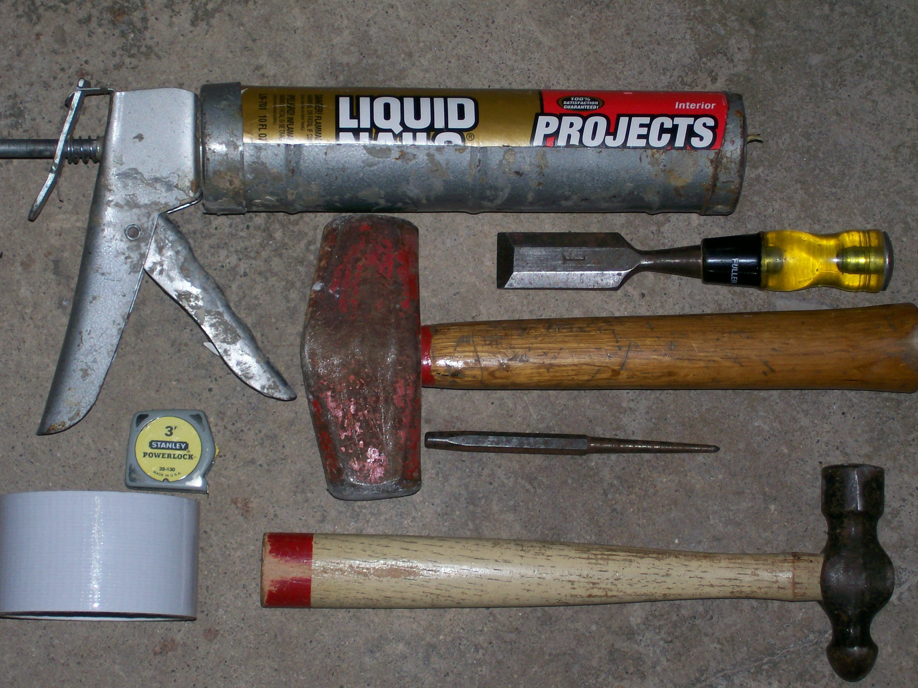 Picture of Material & Tools
