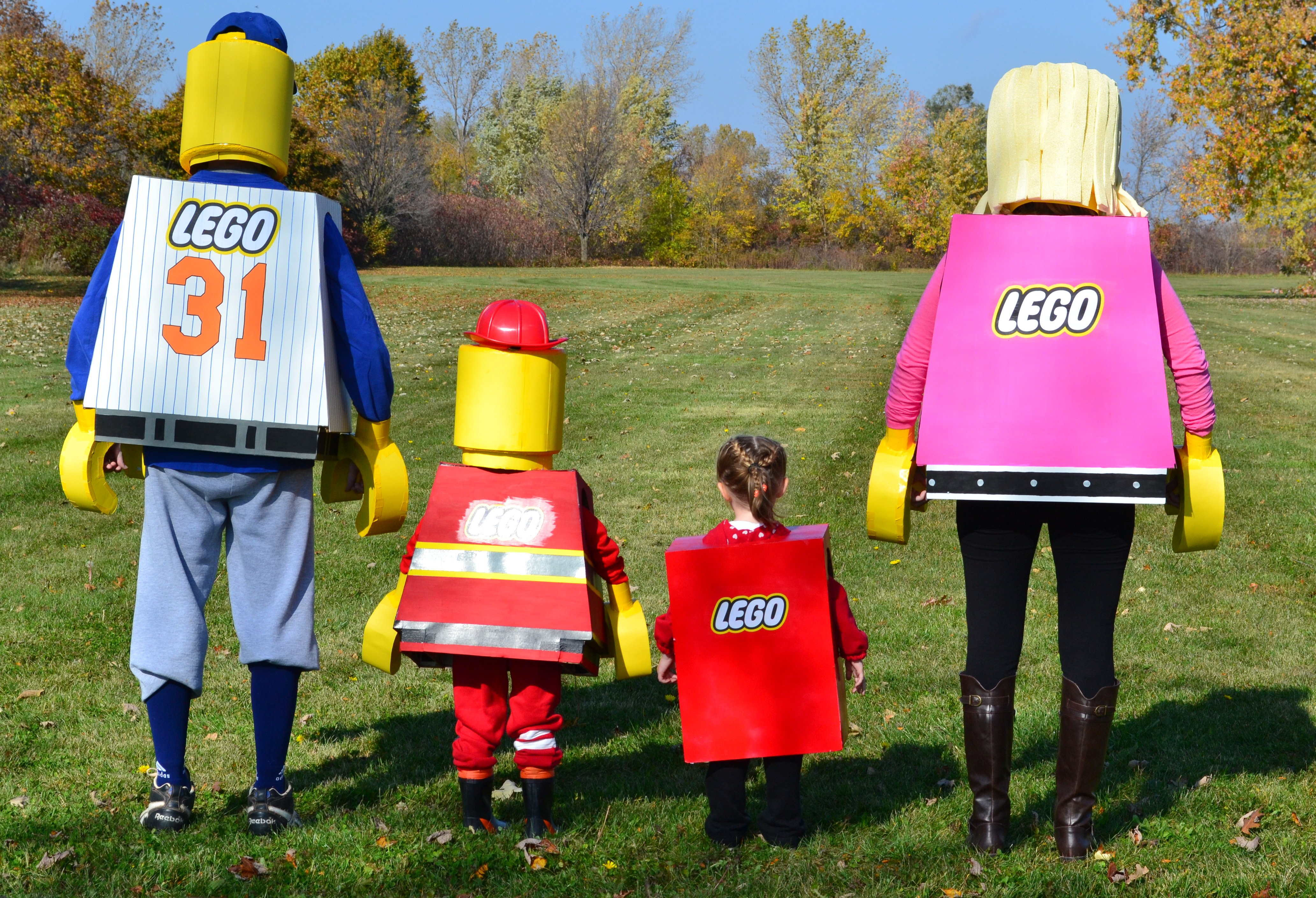 Picture of Repeat All These Steps Again for More Lego Costumes!