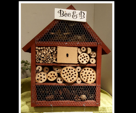 Bee & B, Insect Hotel