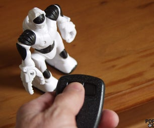 5-Minute Project: the WowWee Robotics Keychain