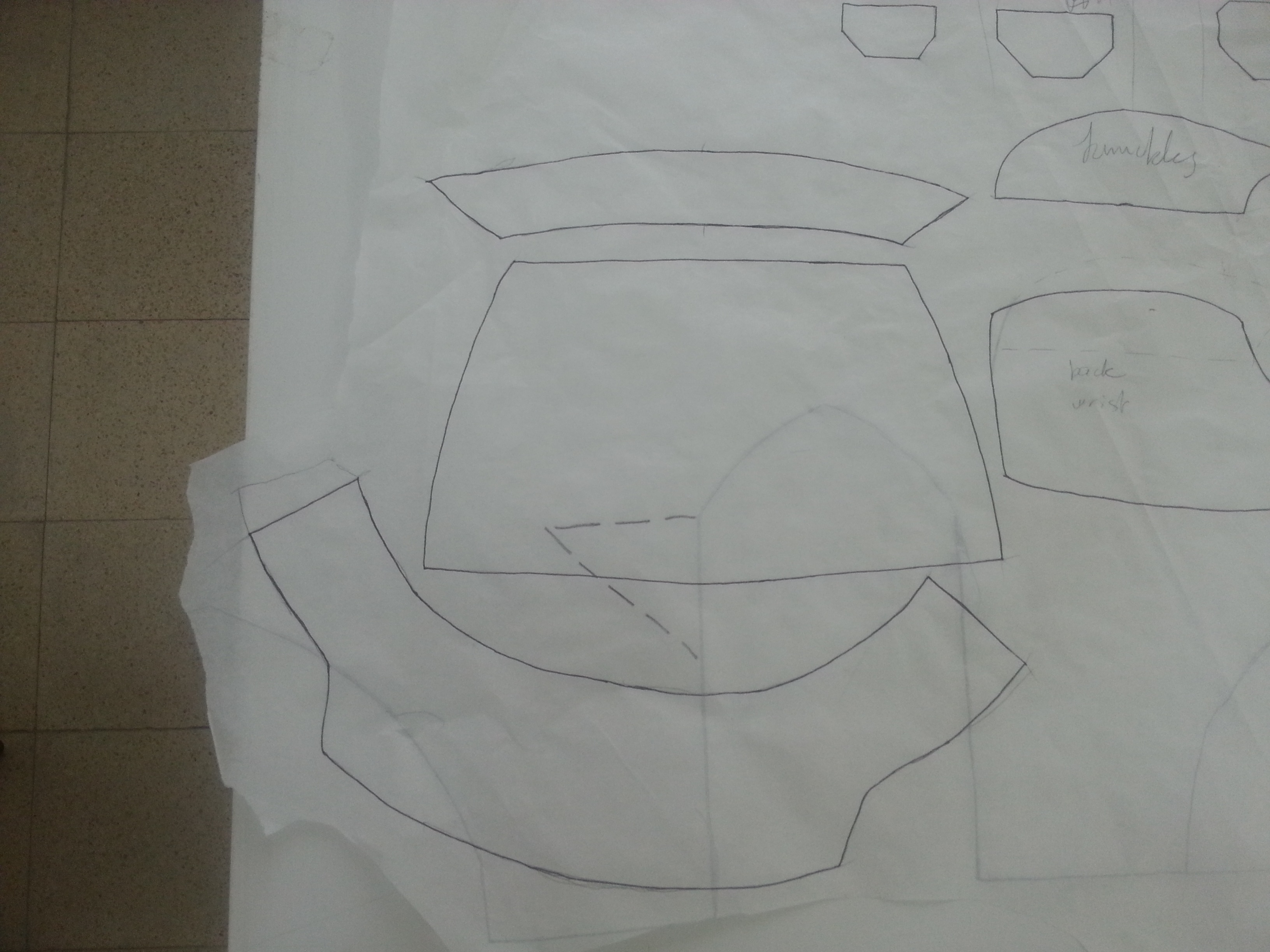 Picture of Making the Arm Template