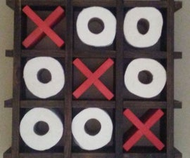 Tic Tac Toe Toilet Paper Holder