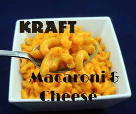 Kraft Macaroni & Cheese Copycat Recipe