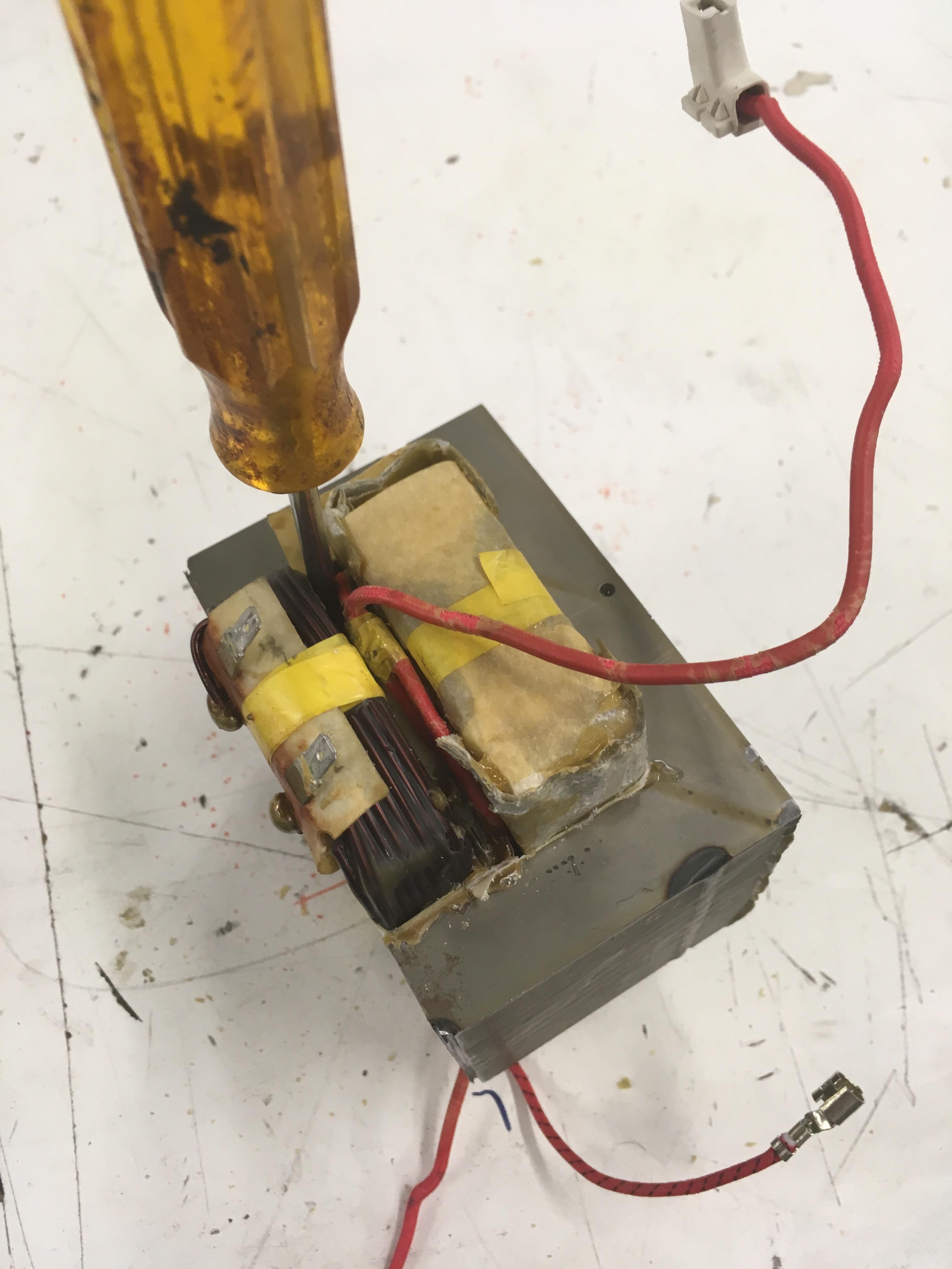 Picture of Remove the Primary Coil