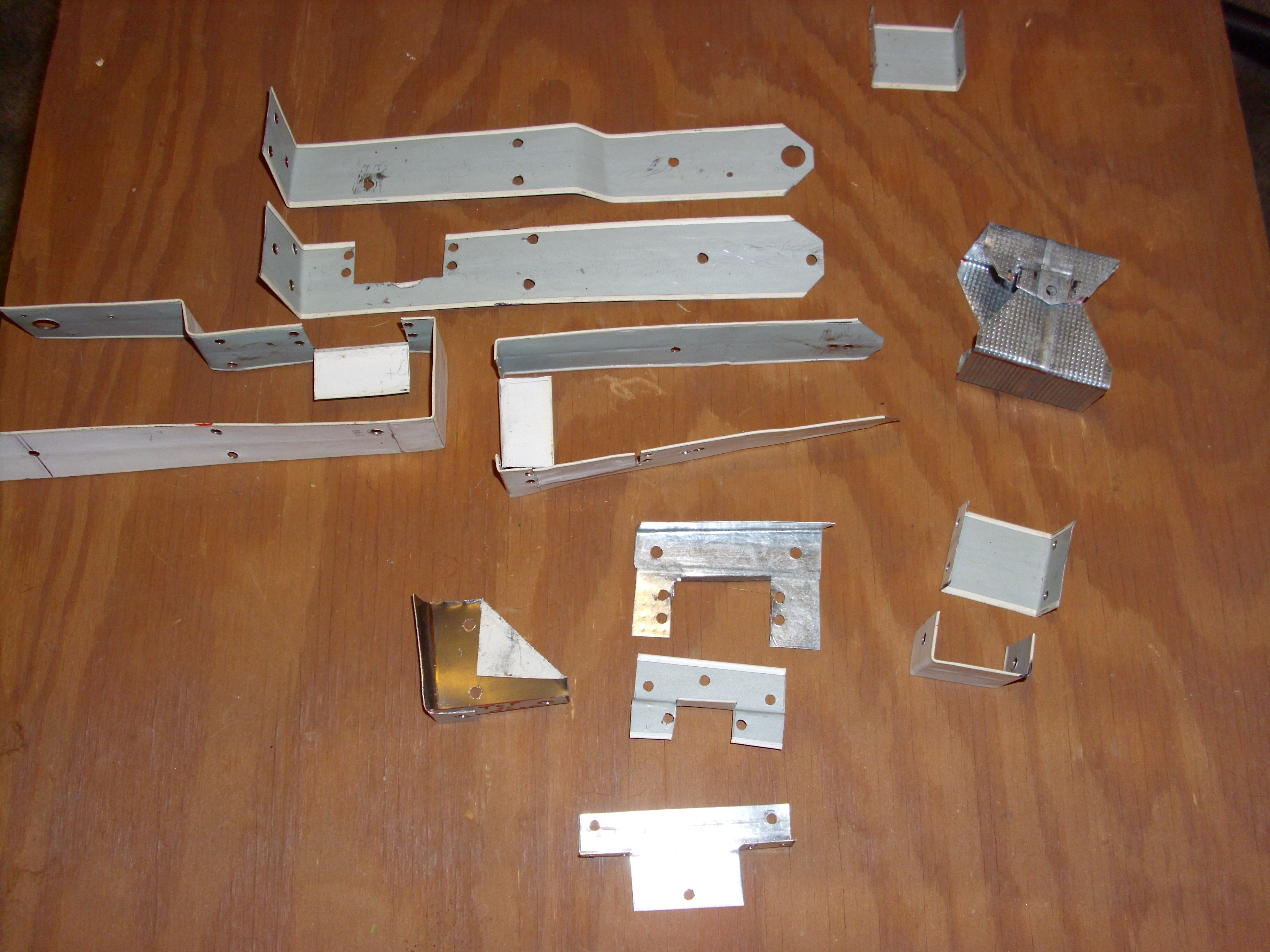Picture of Brackets and Holders for Servos and Motors