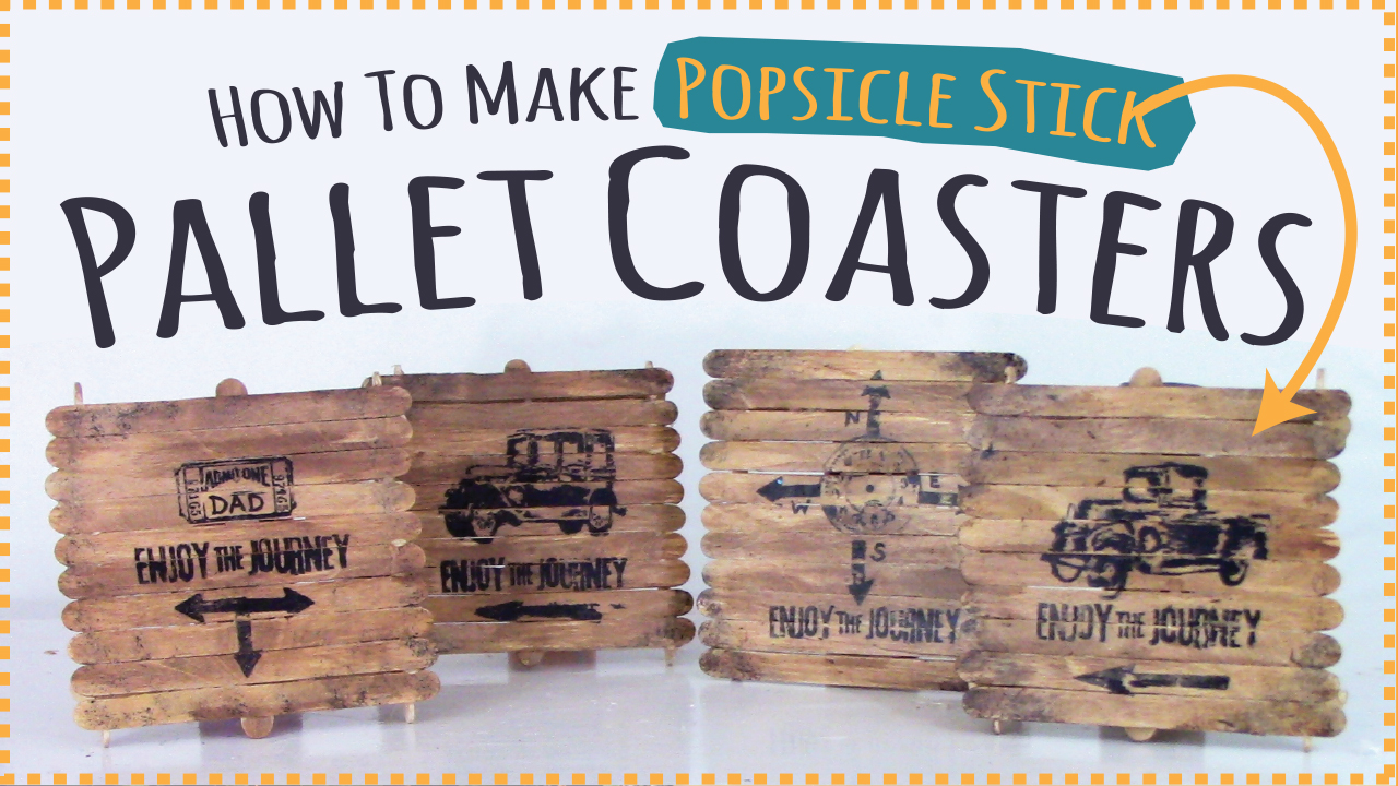 Picture of How to Make Popsicle Stick Coasters