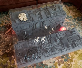 Death Star Trench Run Table