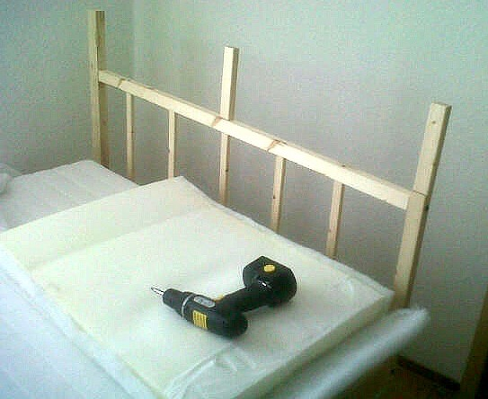 Picture of Modifying the Headboard.