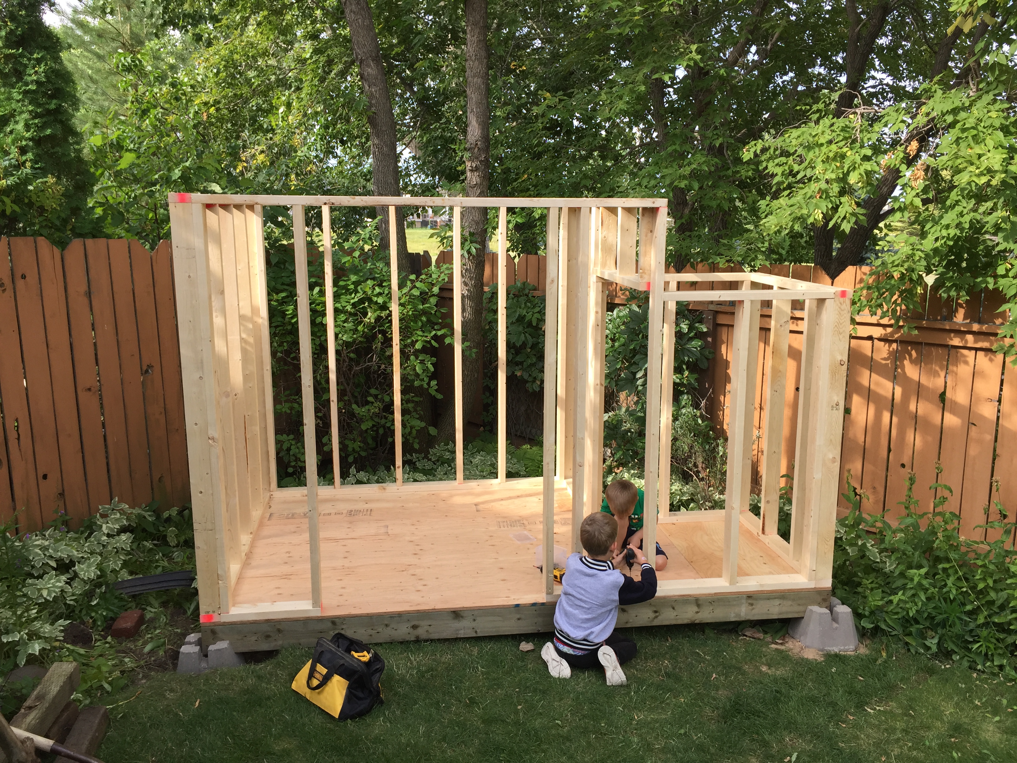Picture of Building the Shed
