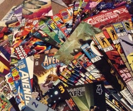 Simple Comic Collectors Inventory List